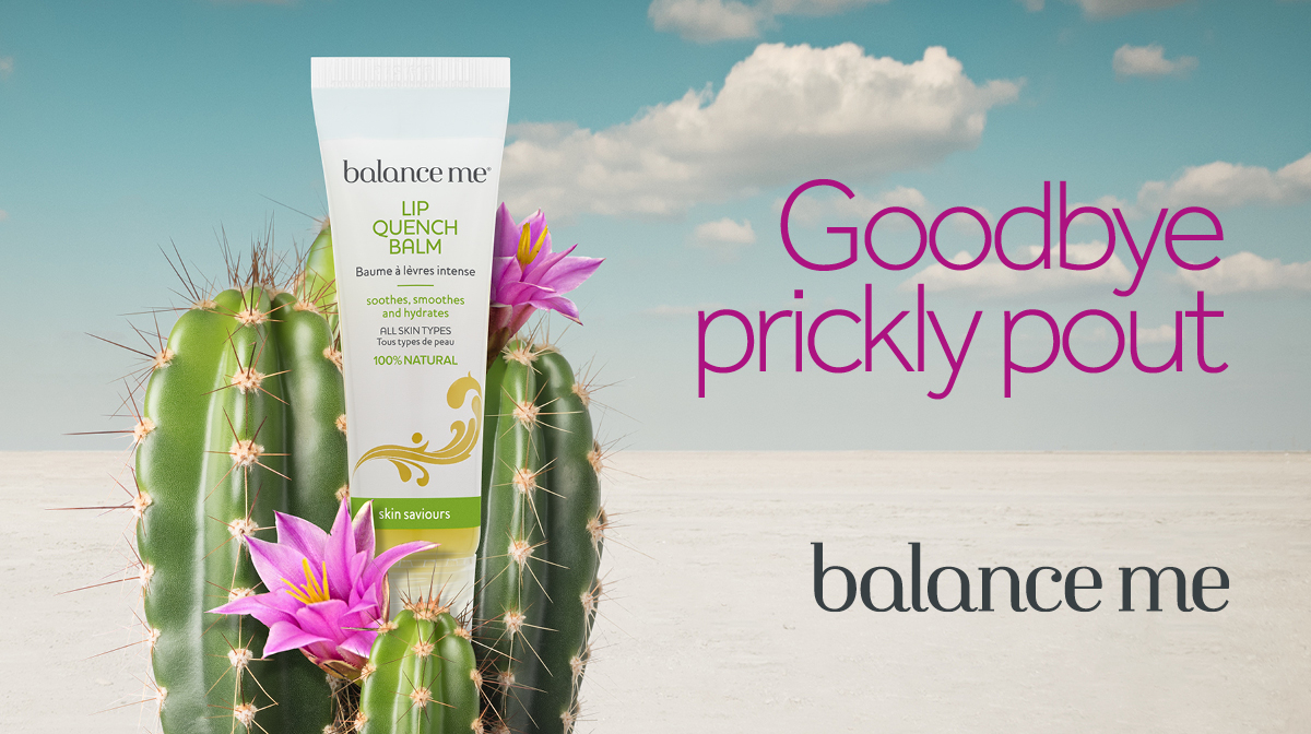 In the spotlight: Balance Me Lip Quench Balm