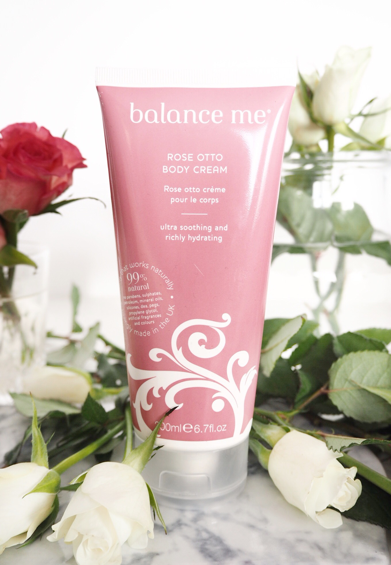 Balance Me Rose Otto Body Cream