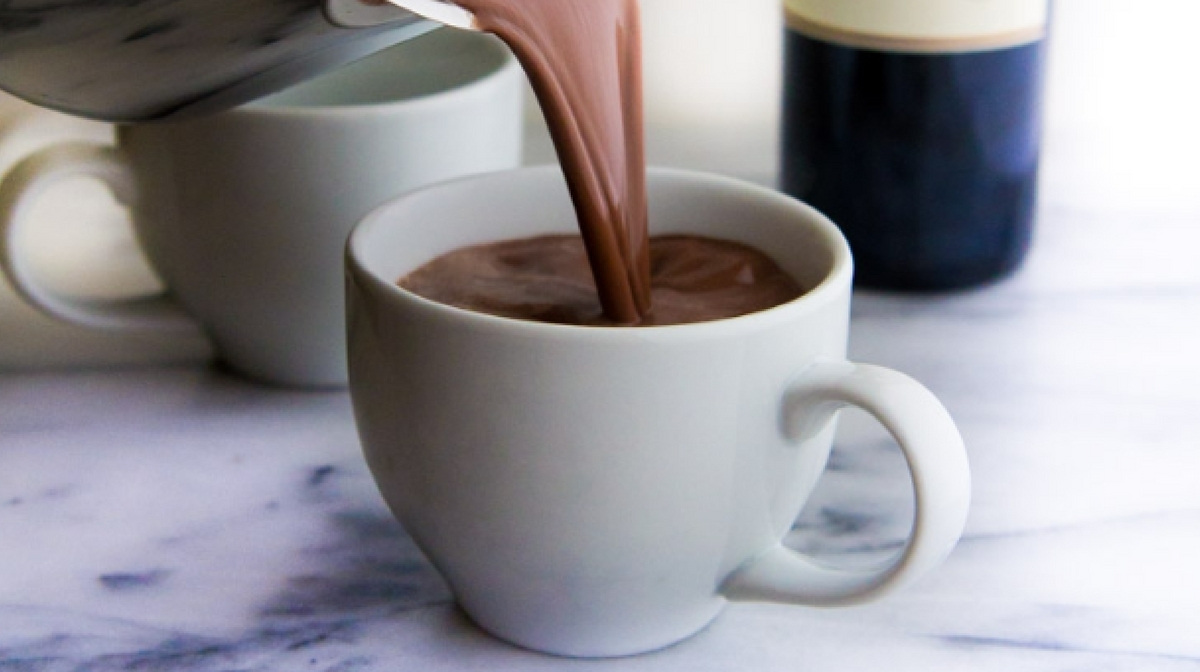 Recipe: Red Wine Hot Chocolate