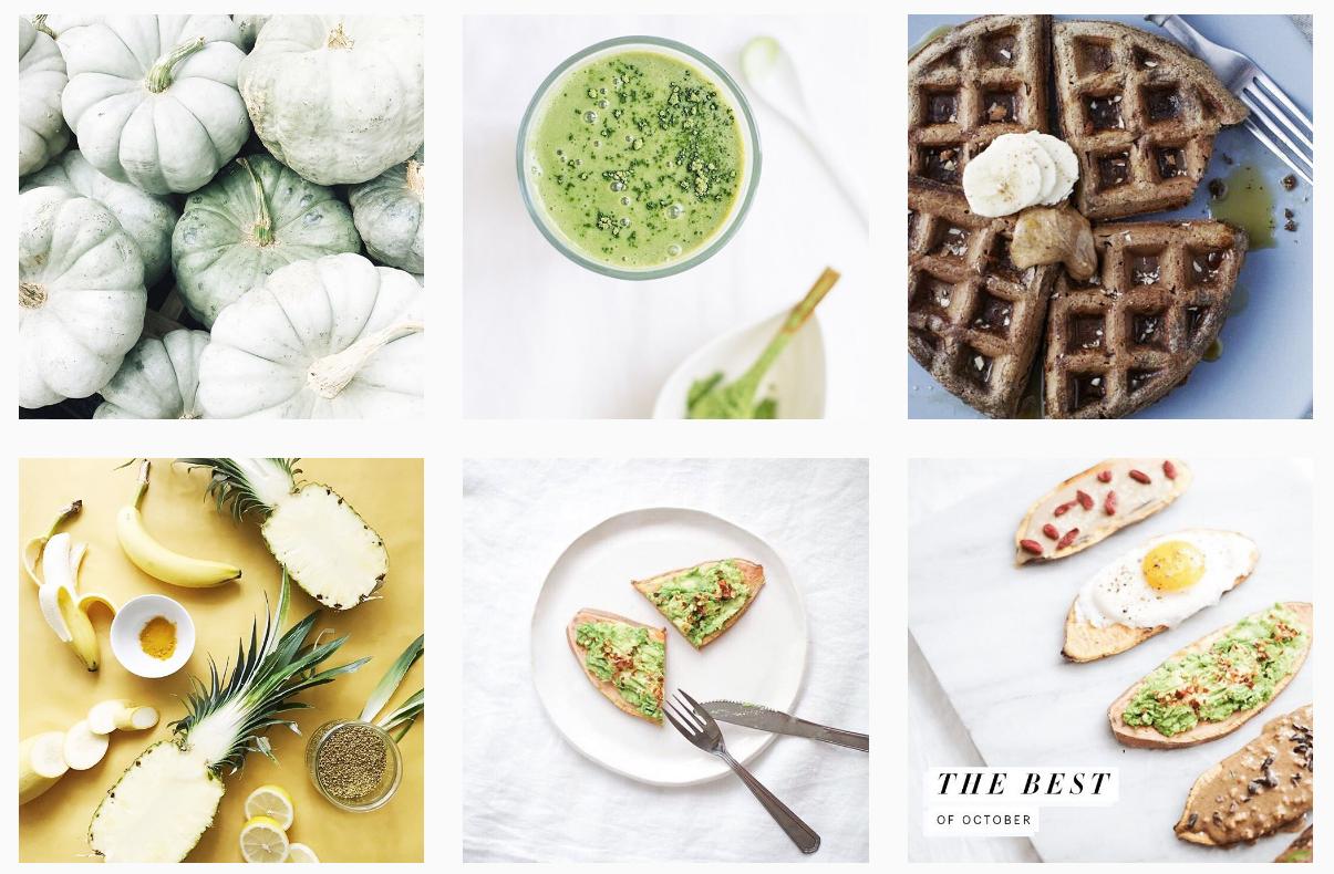 healthy eating instagram