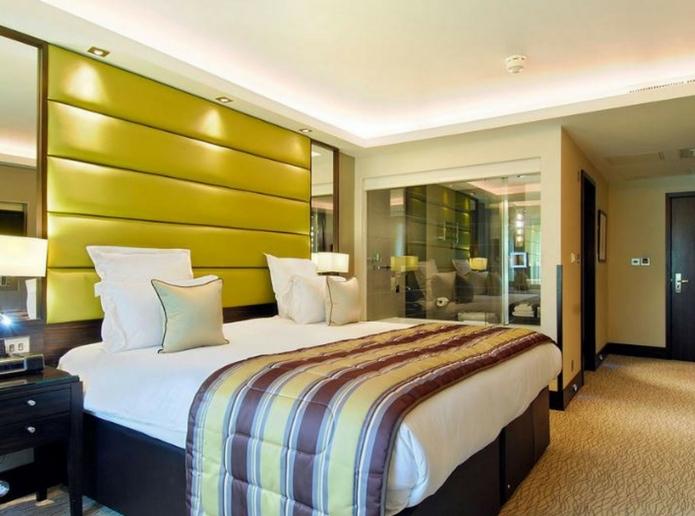 The Montcalm bedroom