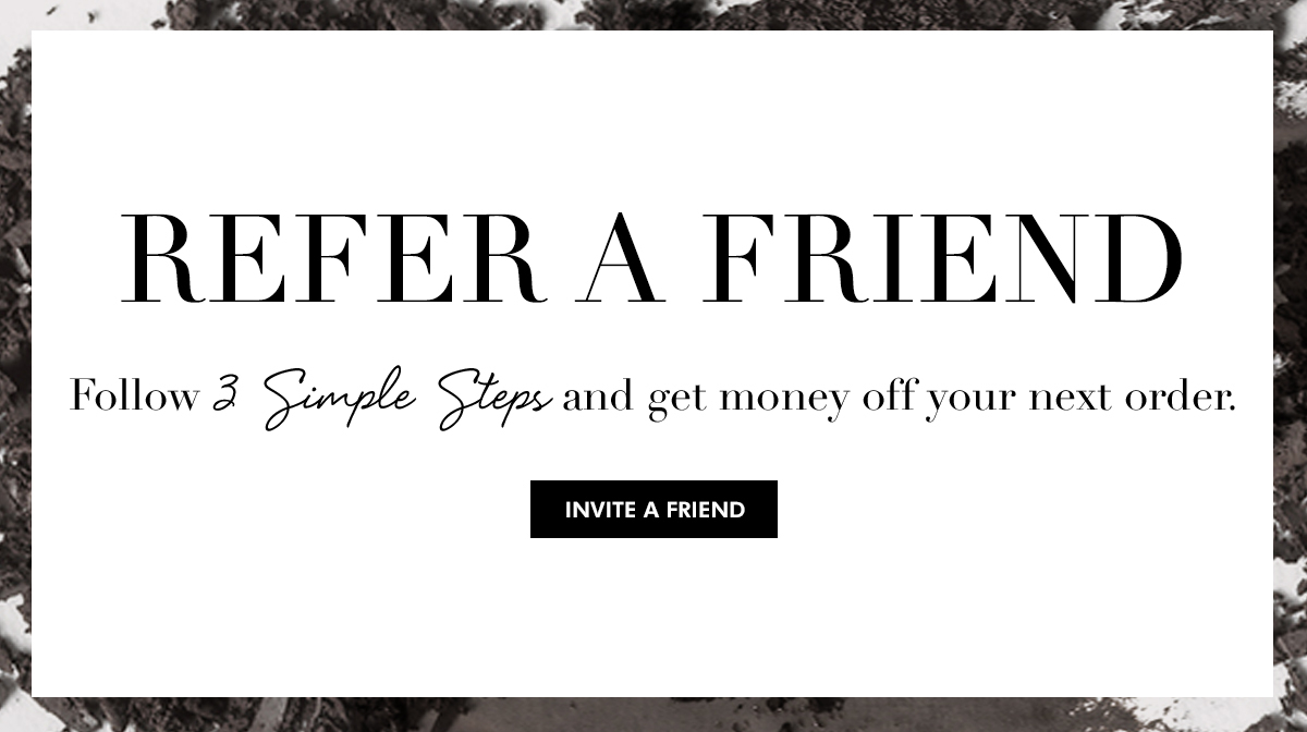 Refer a Friend: How to get money off your next order