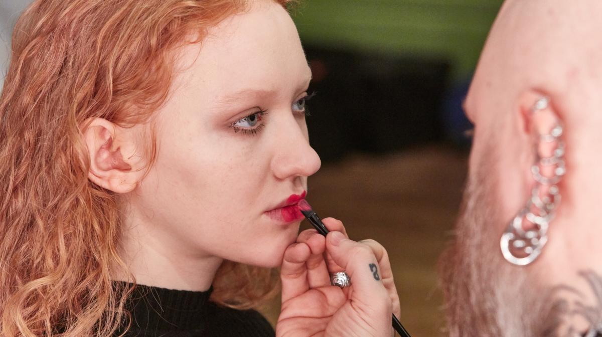 LFW Looks: Neon Lips at Ryan Lo