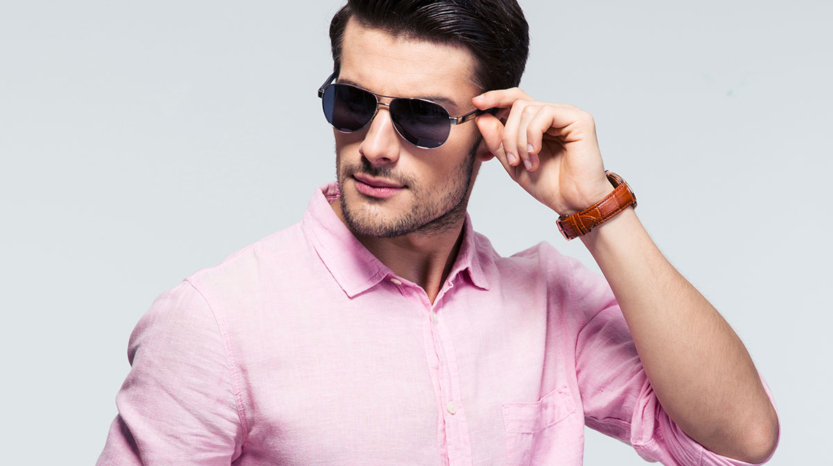 Can men wear pink?