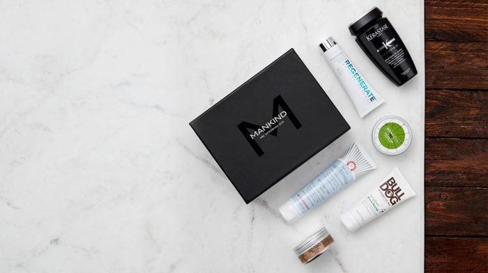 Limited Edition December Mankind Grooming Box