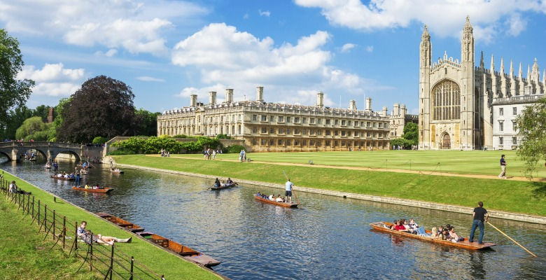 places to visit in the UK cambridge
