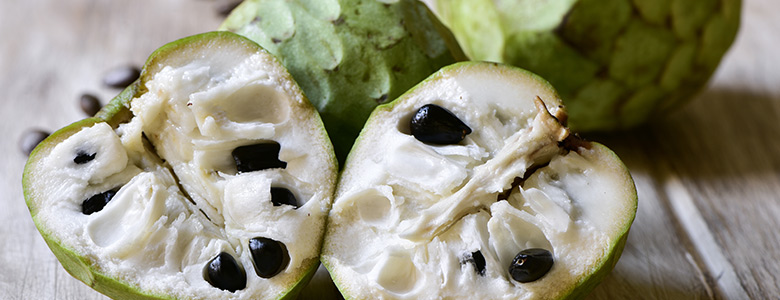 unusual fruits cherimoya