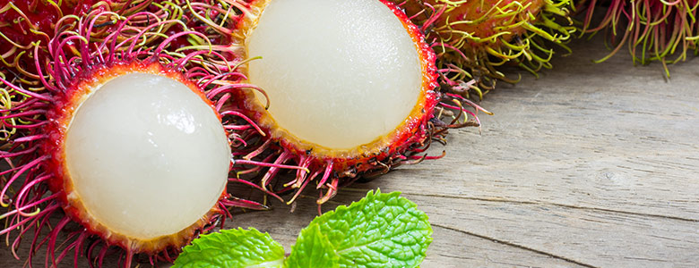 unusual fruits rambutan