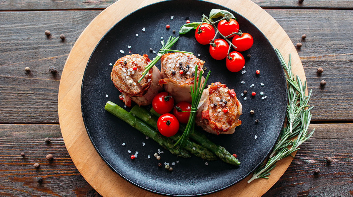 quick spring recipes pork medallions