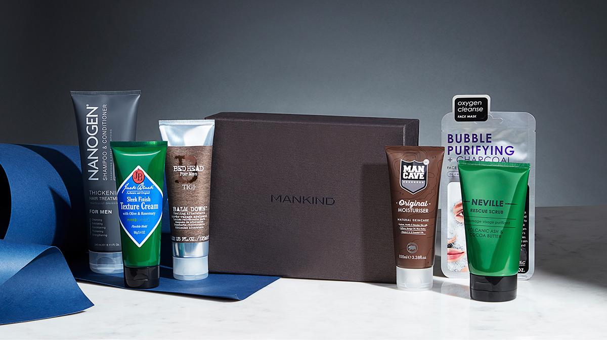 The Mankind Grooming Box: Confidence Edition