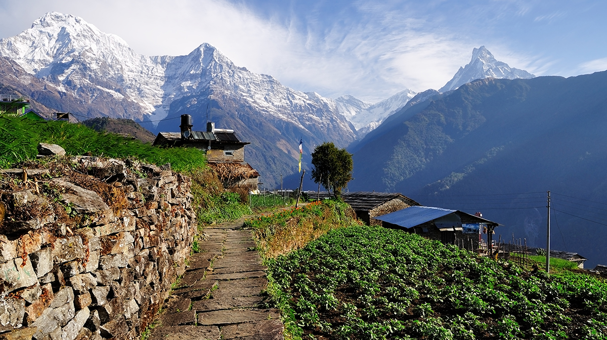 autumn break destinations nepal mountains