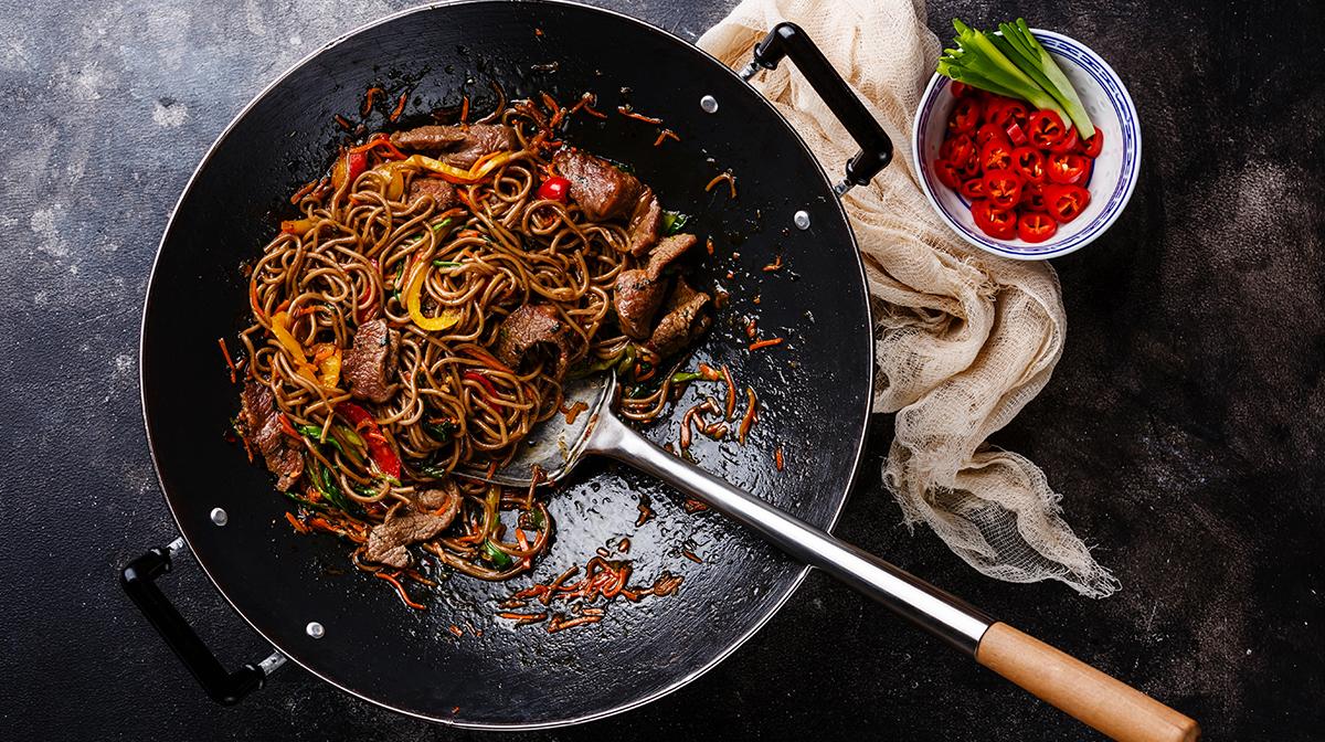 immune system boosting winter meals stir fried noodles