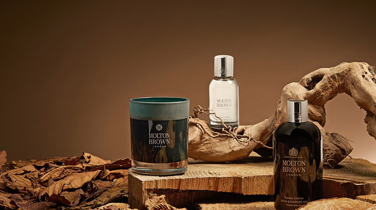 Introducing Molton Brown: Russian Leather Collection