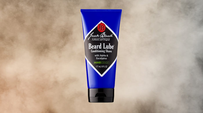 Showcasing Jack Black Beard Lube Conditioning Shave