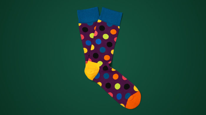 Day 13: Happy Socks Men's Big Dot Socks