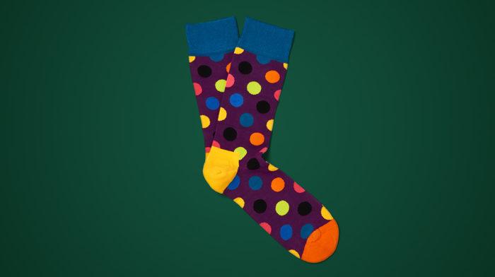 Day 13: Happy Socks Men's Big Dot Socks