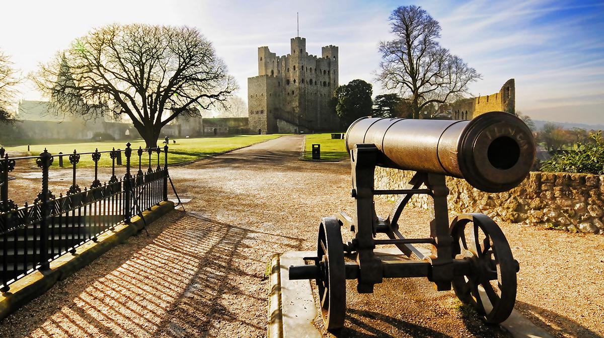 Rochester Castle in Kent