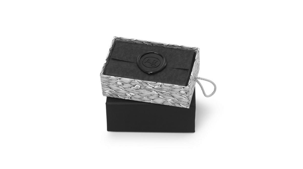 Le Savon Lune soap bar by ARgENTUM in box.