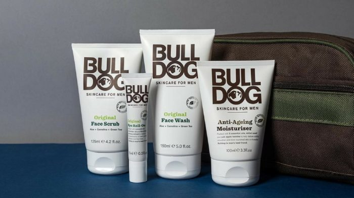 Men's skin care products: where to start, featuring Bulldog