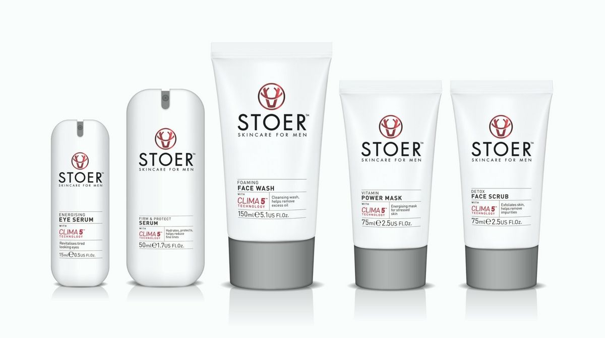 The Stoer Skincare for men range