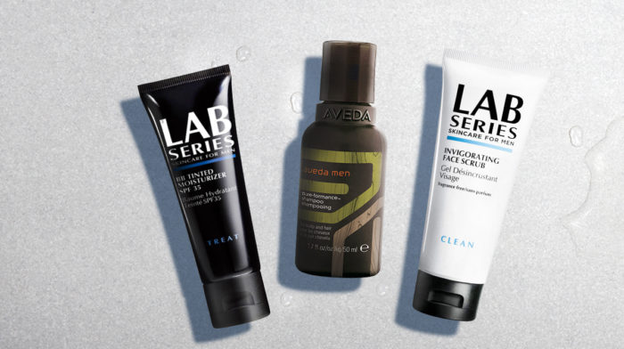 The Lab Series and Aveda partnership that we're really excited about