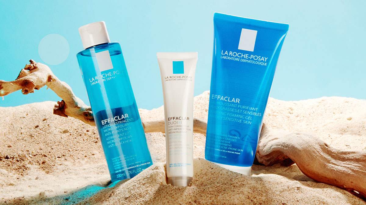 Build a perfect routine for oily skin with La Roche-Posay Effaclar