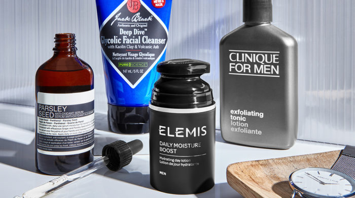 Easy 4 Step Daily Men's Skincare Routine