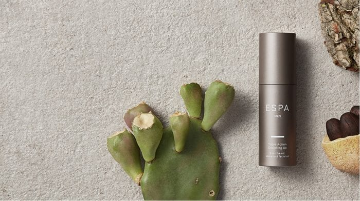 Meet the new addition to the ESPA Men's Range: the ESPA Triple Action Grooming Oil