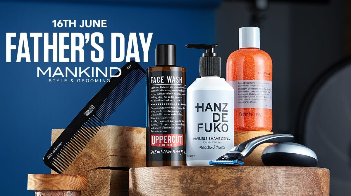 What's on offer on Mankind: Father's Day Gift Guide