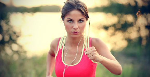 female-jogger-listening-music