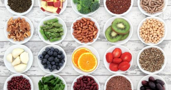 fruits nuts vegetables