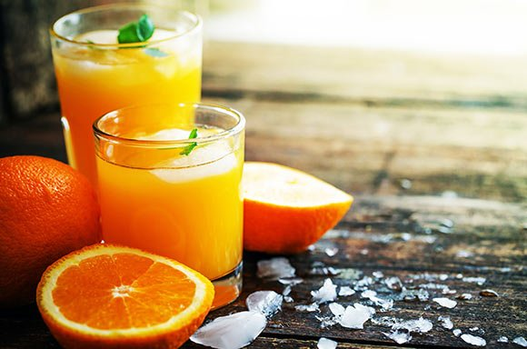 vitamin c orange juice