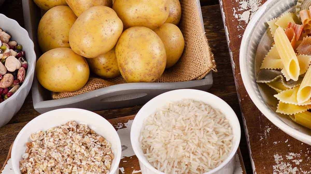 πατάτες, μακαρόνια, ρύζι