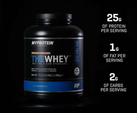 the whey product info
