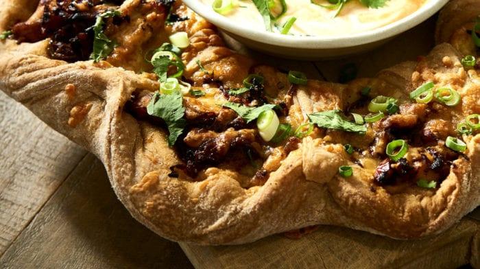 Πίτσα Κοτόπουλο Φαχίτα (fajita) | Υψηλή Πρωτεΐνη Χαμηλά Λιπαρά