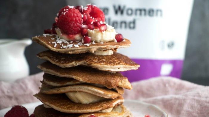 Διαιτητικά Pancakes Πρωτεΐνης – Χαμηλών Υδατανθράκων
