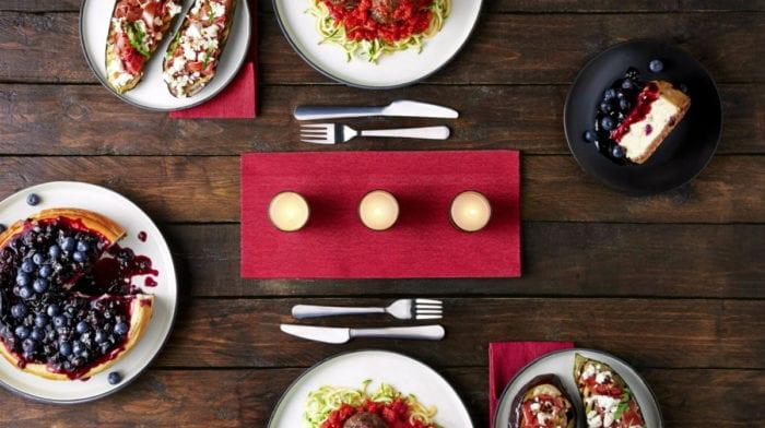 Γεύμα Αγίου Βαλεντίνου για δύο: 3 υγιεινά πιάτα