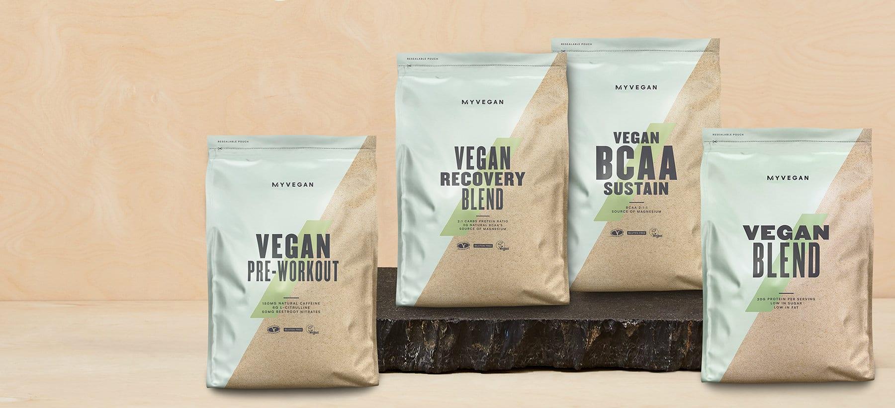 Διατροφή για vegan | 4 φυτικά συμπληρώματα για την προπόνηση