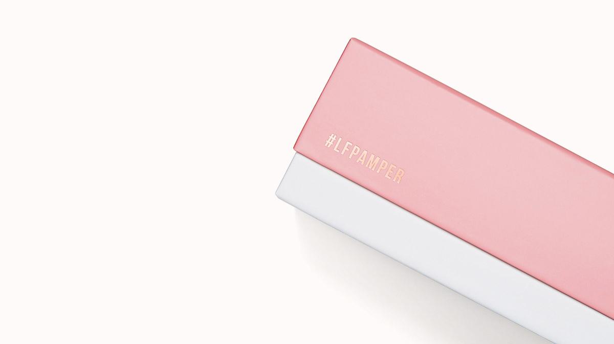 Der Inhalt der #LFPAMPER Beauty Box im Oktober