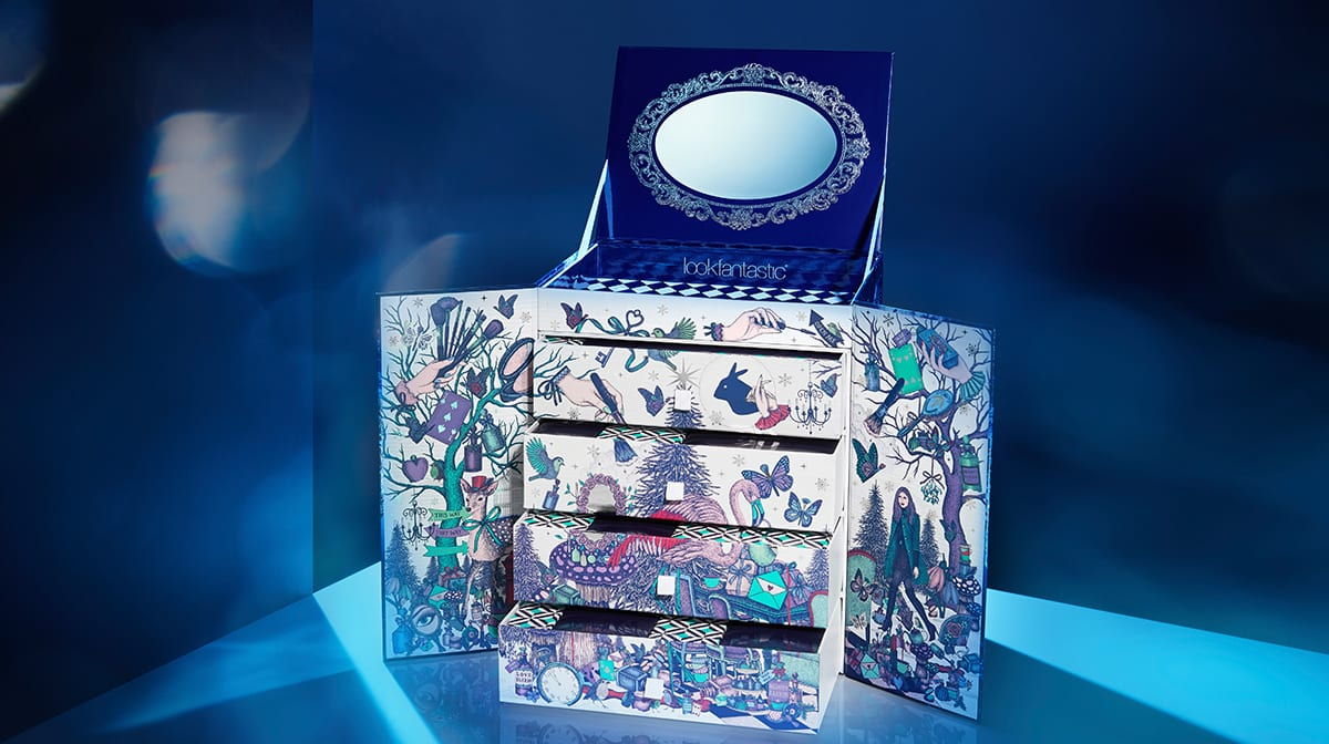 lookfantastic beauty in wonderland adventskalender