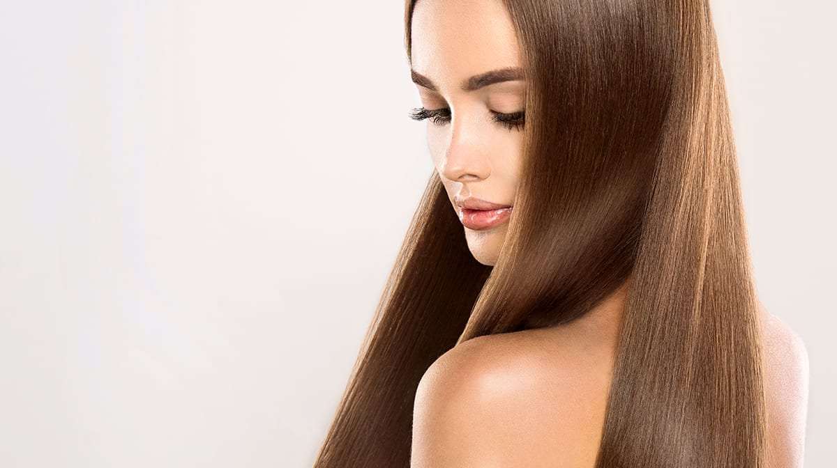 Haare glätten in 10 Minuten
