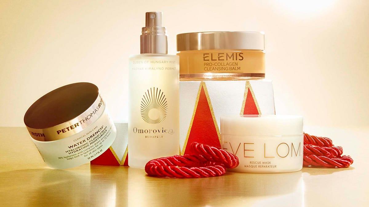 Die besten Weihnachtssets für Hautpflege