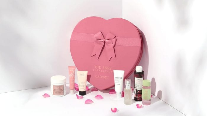Entdecke die limitierte lookfantastic Rose Collection Box