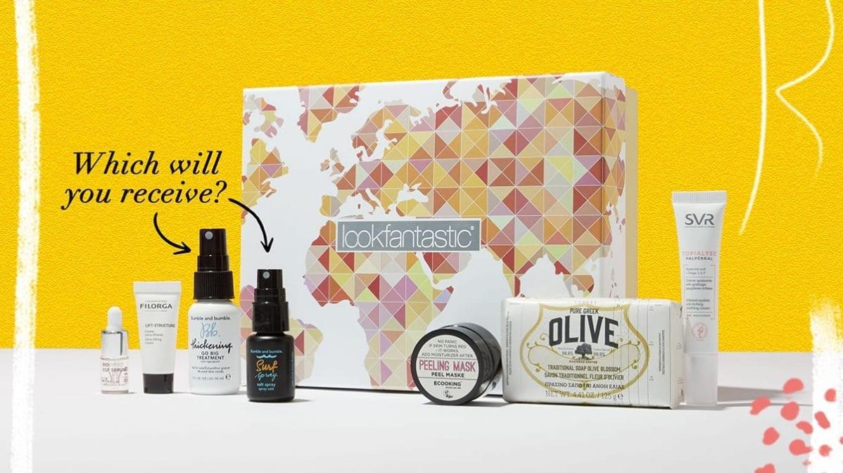 Entdecke die lookfantastic Juni Beauty Box