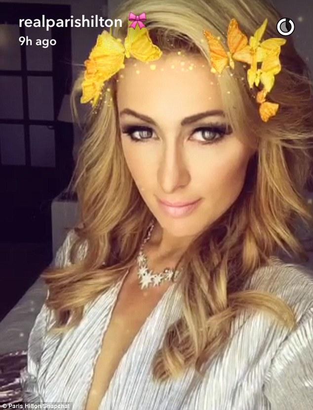 Paris Hilton Butterfly Halo