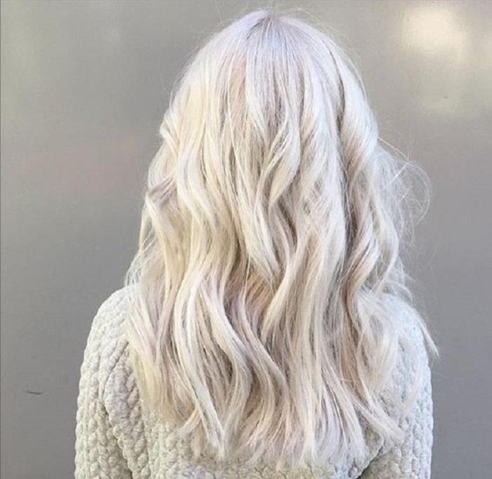 White Blonde Hair 3