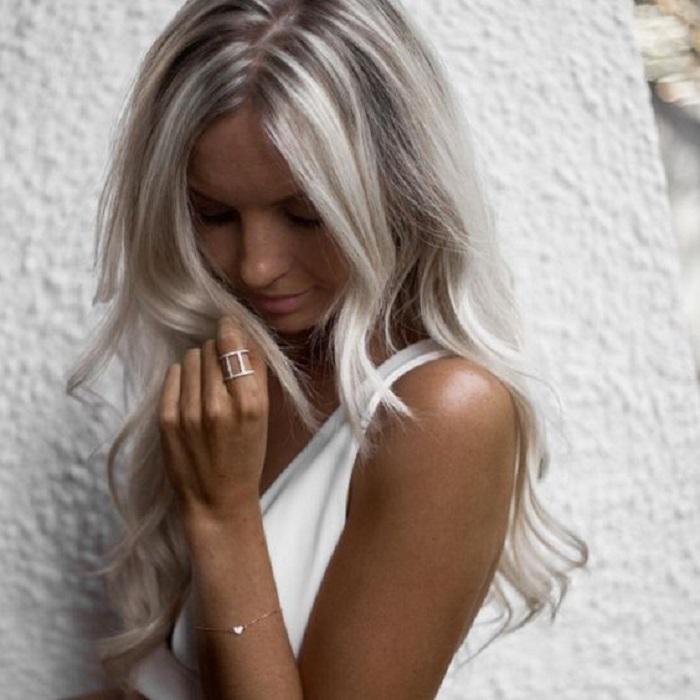 White Blonde Hair 4