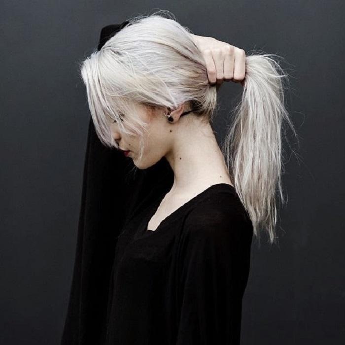 White Blonde Hair 2