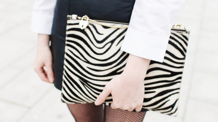Two Ways to Wear an Aspinal of London Soho Pouch