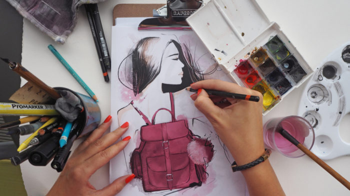 An Interview with Fashion Illustrator Tanya Kancheva